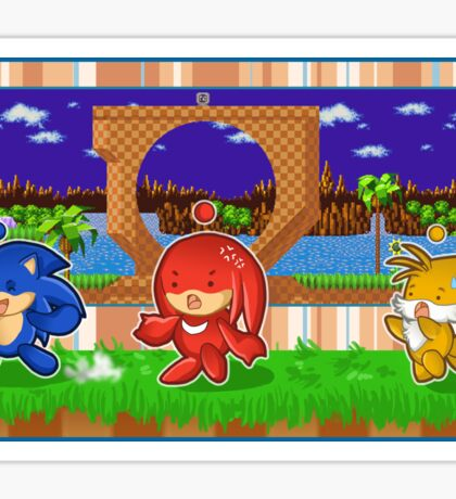 Sonic Chao and Friends Sticker
