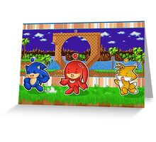 Sonic Chao and Friends Greeting Card