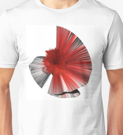 """""""Consciousness of the Inanimate"""" painting as a Spherical Depth Map. 1 Unisex T-Shirt"""