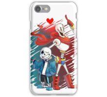 Undertal Skeletons iPhone Case/Skin