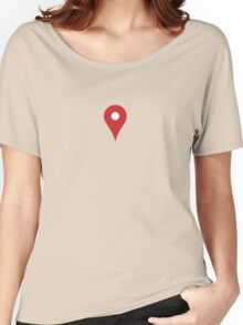 Map Pointer Women's Relaxed Fit T-Shirt