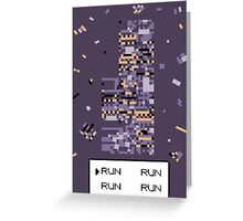 A Wild Missingno. appeared! Greeting Card