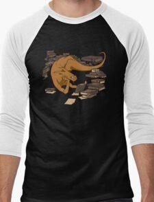 The Book Wyrm Men's Baseball ¾ T-Shirt