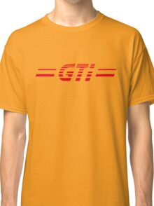 VW GOLF GTI RETRO BACKFLASH Classic T-Shirt