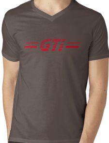 VW GOLF GTI RETRO BACKFLASH Mens V-Neck T-Shirt