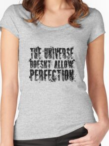 Imperfect Women's Fitted Scoop T-Shirt
