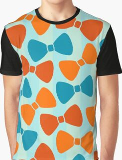 Vintage Pumpkin Bows Graphic T-Shirt