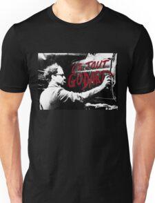 "Jean-Luc Godard - ""Le Tout Godard"" graffiti Unisex T-Shirt"