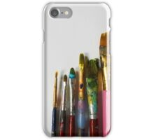 Paint Brushes iPhone Case/Skin
