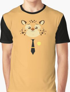 Stylized-ghepard-Clawhauser Graphic T-Shirt