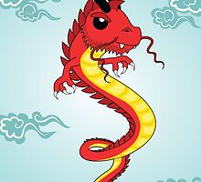 Asian-style Dragon by mstiv