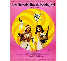 Les Demoiselles de Rochefort - French New Wave film starring Catherine Deneuve Photographic Print