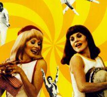 Les Demoiselles de Rochefort - French New Wave film starring Catherine Deneuve Sticker