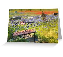 Rest in Peaceful Color Greeting Card