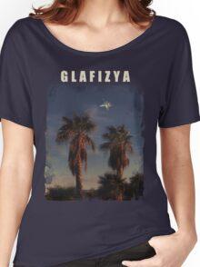 Glafizya Palms Women's Relaxed Fit T-Shirt