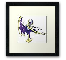 Lunaala - Pokemon Moon Framed Print
