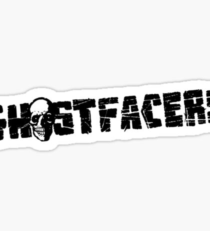 Ghostfacers Sticker