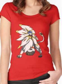 Solgaleo - Pokemon Sun Women's Fitted Scoop T-Shirt
