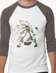 Solgaleo - Pokemon Sun Men's Baseball ¾ T-Shirt