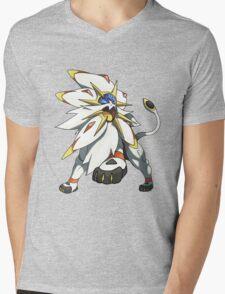 Solgaleo - Pokemon Sun Mens V-Neck T-Shirt