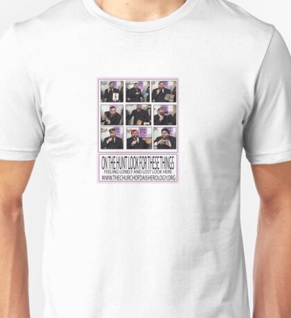 A poster to help you find what you are looking for  Unisex T-Shirt