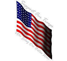 Support our troops Photographic Print