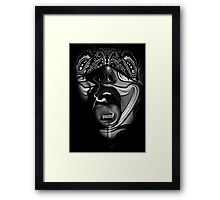 Bullet To The Face Framed Print