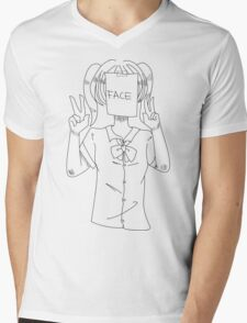 Beauty Face (1) Mens V-Neck T-Shirt