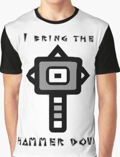 Monster Hunter Hammer Graphic T-Shirt