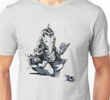 Nerdy Ganesha - color print Unisex T-Shirt