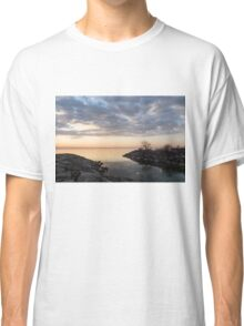 Reflecting on Quiet, Peaceful Mornings Classic T-Shirt