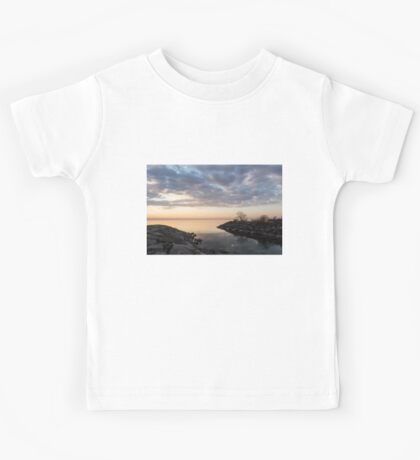 Reflecting on Quiet, Peaceful Mornings Kids Tee