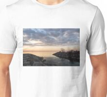 Reflecting on Quiet, Peaceful Mornings Unisex T-Shirt