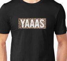 Yaaas Leopard Unisex T-Shirt