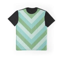 v lines - river Graphic T-Shirt