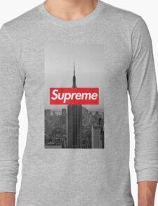 Supreme New York  Long Sleeve T-Shirt