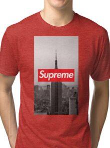 Supreme New York  Tri-blend T-Shirt