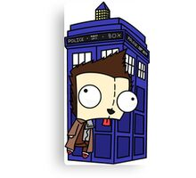 10th Doctor GIR Canvas Print