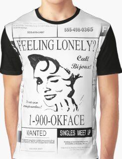 30 Rock (1-900-OKFACE) Graphic T-Shirt
