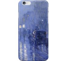 Rainy Midnight -  Childe Hassam iPhone Case/Skin
