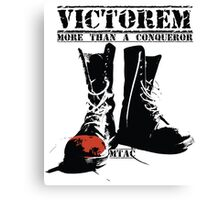Step into VICTORY Canvas Print