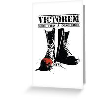 Step into VICTORY Greeting Card