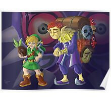 Link and the Happy Mask Salesman Poster
