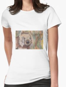 Wally Wombat Womens Fitted T-Shirt