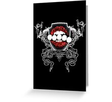 Wild And Untamed Thing Greeting Card