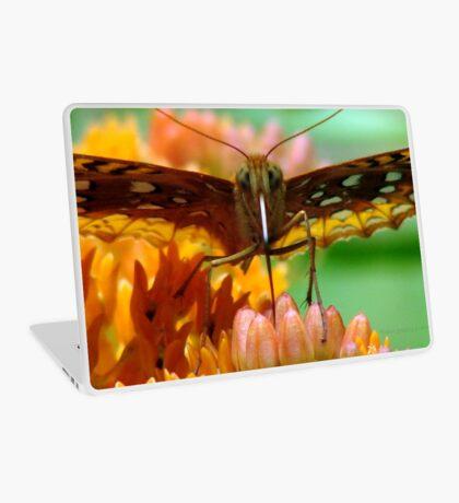 Great Spangled Fritillary Pair Laptop Skin