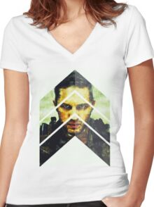 Mad Max Fury Road Tom Hardy Apocalypse Most Popular Women's Fitted V-Neck T-Shirt