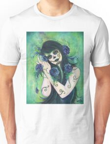 Adelita Day of the Dead By Renee Lavoie T-Shirt