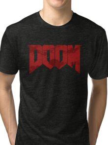 DOOM - BLOODSPLASH Tri-blend T-Shirt