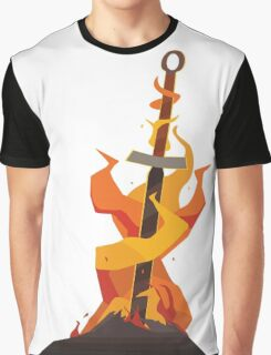 The Coiled Sword  Graphic T-Shirt